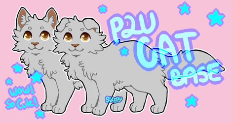 P2U - Cute Cat Base by ssleepy