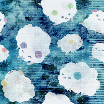 Bluish with rams wallp by Kna