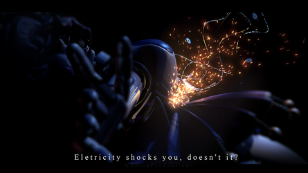 Electricity shocks you, doesn't it? -[FNaF SL] by ChuizaProductions