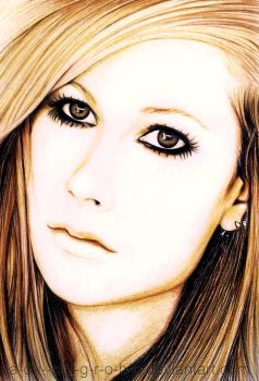 Avril Lavigne ... by im-sorry-thx-all-bye