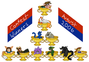 Contest Winners - August 2006 by RoseSagae