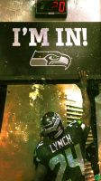 Seattle Seahawks Lynch Lockscreen by Stealthy4u