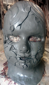 Doll Mask Sculpt by PlaceboFX