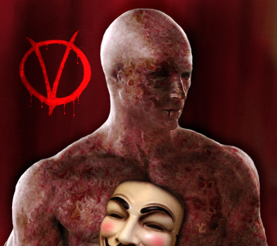 V for Vendetta-Behind the mask by maddiecristea