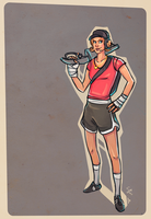 Female Scout concept by ChemicalAlia