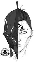 Personified Nyx by GraphiteGrey