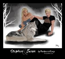 Stephen and Jason by Darkness4Lucy