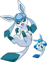 471 - Glaceon - Art v.3 by Tails19950