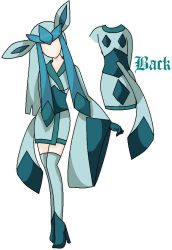 Glaceon Cosplay Design by UtaXNoXHaru