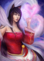 Ahri's Charm by Suixere
