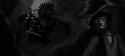 WIP - The Horned King Rides by Caelkriss
