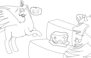 Nix Vs Candy (game Round) by mr-Sy