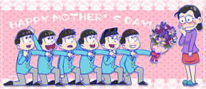 Osomatsu-san: Mother's Day by Abie05