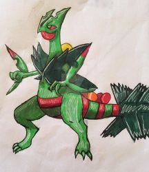 Mega Sceptile by PotatoGurl12