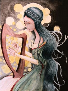 AP Studio Art 2014: Concentration 8 (Harp) by Skanday