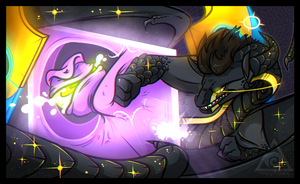 [AT] To Punch A God by V0IDSPACER