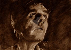 Harry Dean Stanton by MercuryRapids