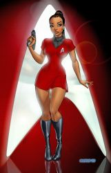 Uhura by Dominic-Marco