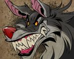 Lippy dog smile by zillabean