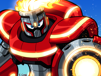 FireMan Fully Charged by rongs1234