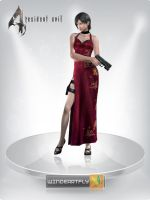 Ada Wong RE IV by WINDEARTFLY