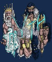 Heros of Myth: Color by jdmacleod