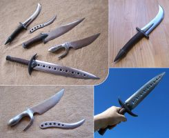 Fantasy knifes and daggers by Astalo