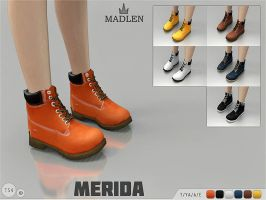 [MMD] Madlen Merida Boots (+DL) by AppleWaterSugar