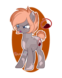 Spitfire with cutie mark by thecyanidefairy