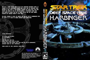 Custom DS9 Harbinger Cover by Darkwolf-Howling