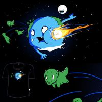 Woot Shirt - Astronomy Hurts by fablefire