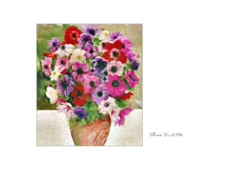 Flowers In A Pot by love1008