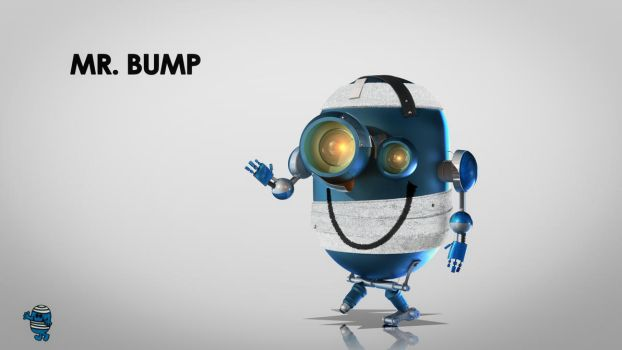 Mr Bump - M. Malchance by TheMaxlord