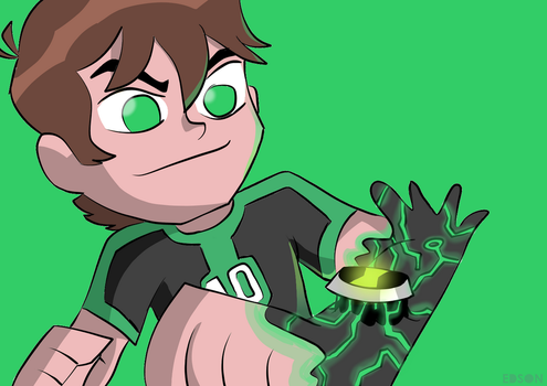 Ben 10 transformation by EdsonAndrade10