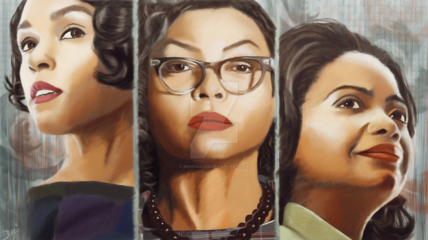 Hidden Figures by alice-castiel