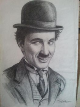 Charlie Chaplin by casey62