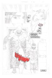 The Good Samaritan page 1 pencils and letters 5of5 by SAVGuy