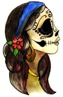 day of the dead girl by azcuar-skrinkle-love