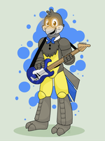 Point Commission # 12 Jay the Fazgang Guitarist by HTF-ADTI-MLP100606