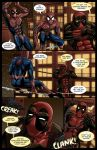 Spideypool Comic 'Never Say Never' Page 3 by jijikero