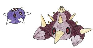 Urchins by FrozenFeather