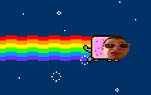 MARKIPLIER NYAN CAT by PikyoPocketNoses