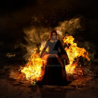 Witch Fire by tryskell