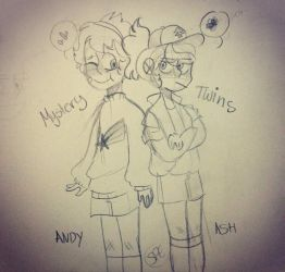 Mystery Twins (wip?) by Ashlee-Cate