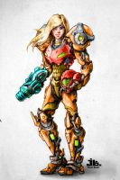 Samus Aran by Jessnetic