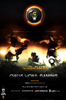 cwG Playstation Master  POSTER by chillys-world