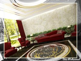 Classical LivingRoom by dinamohammad