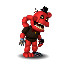 Adventure Old Redbear (FNaF World Halloween Edit.) by TheRealBoredDrawer