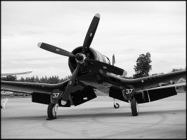 Vought F4U Corsair by Csipesz