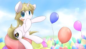 (AT) MLPOC Balloons - All The Balloons by DShou